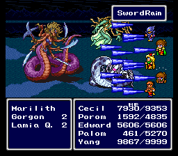 File:Final Fantasy IV - Ultima Marilith Sword Rain.png